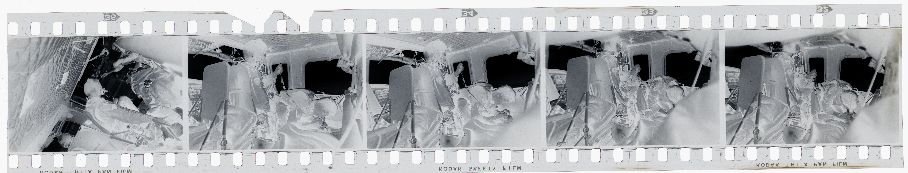 Untitled (Treating Wounded Inside Medevac Helicopter, Vietnam)