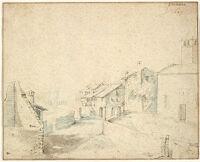 A Village Street In Primolano