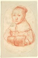 Portrait Of A Woman With A Muff