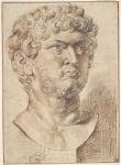 Head of Nero Caesar Augustus