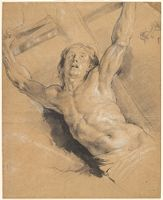 A Study For The Figure Of Christ, From