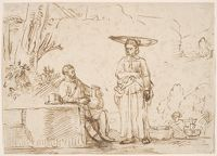 Eliezer And Rebecca At The Well