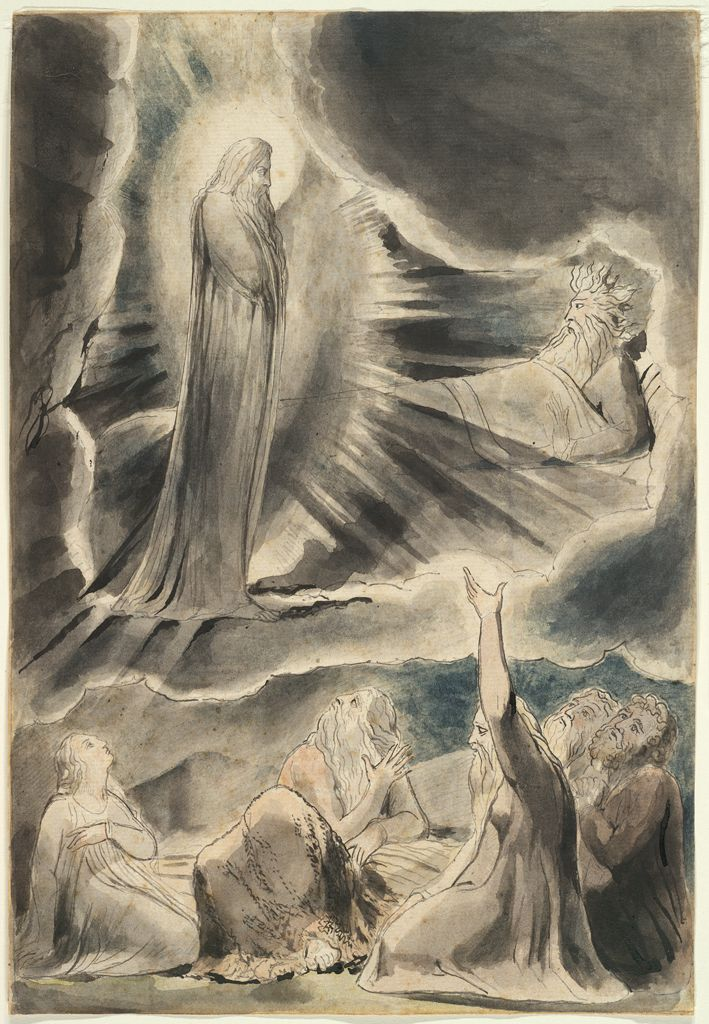 Then A Spirit Passed Before My Face (The Book Of Job)