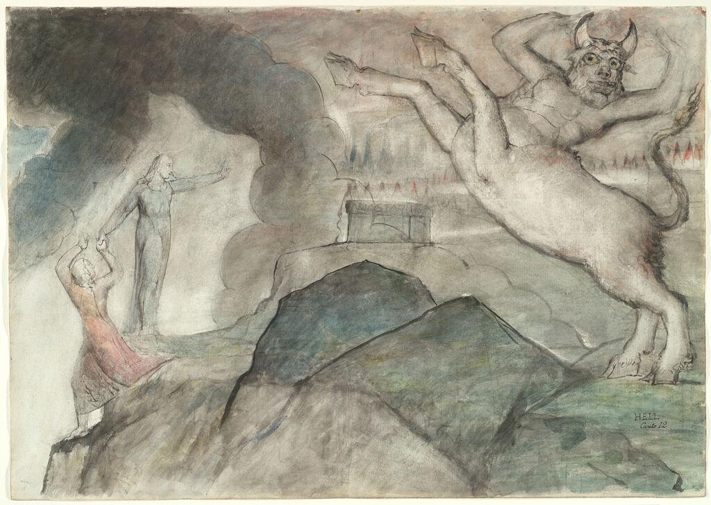 The Minotaur (From Dante's
