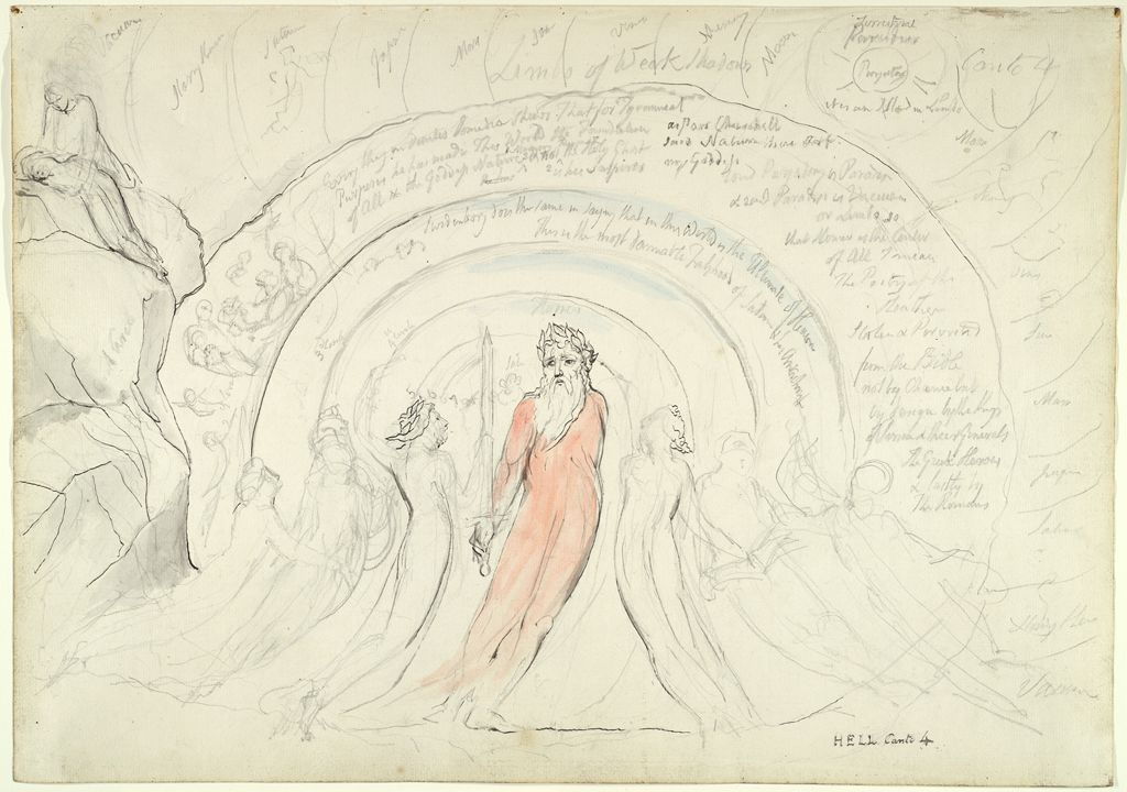 The Shades Of Homer And Other Poets Of Antiquity (From Dante's