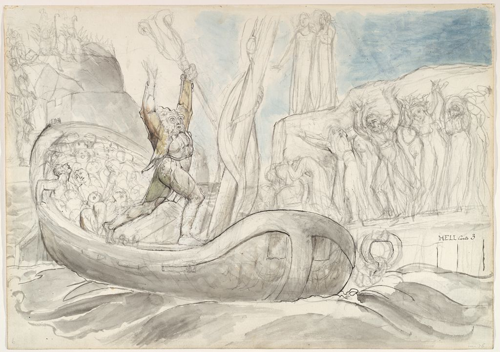 Charon And The Condemned Souls (From Dante's