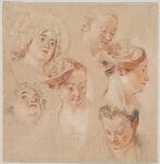 Six Studies of Heads
