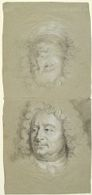 Head and Counterproof of Head of a Man
