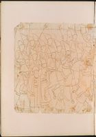 Folio 32 From An Album Of Drawings And Paintings: Wedding Procession (Left Half) (Recto); Blank Page (Verso)