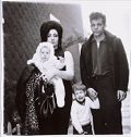 A Young Family In Brooklyn Going For A Sunday Outing. Their Baby Is Named Dawn. Their Son Is Retarded. 1966