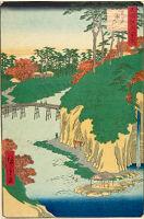 Takinogawa, Ōji (Ōji Takinogawa), From The Series One Hundred Famous Views Of Edo (Meisho Edo Hyakkei)