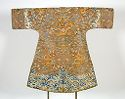 Woman's Robe With Dragon Decor