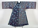 Woman's Robe With Floral Decor