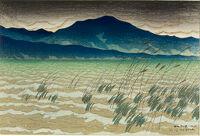 Hira, From The Series Eight Views Of Lake Biwa (Ōmi Hakkei)