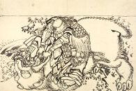 Ikaruga Heji Fighting a Korean Tiger
