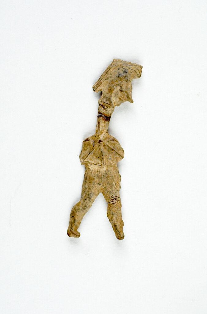 Votive Figurine Of A Warrior