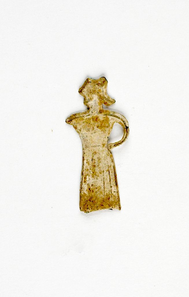 Votive Figurine Of A Woman