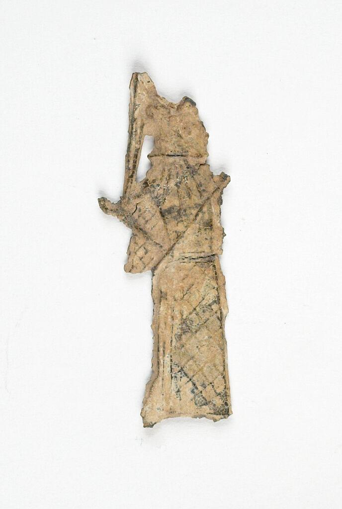 Votive Figurine Of The Goddess Athena