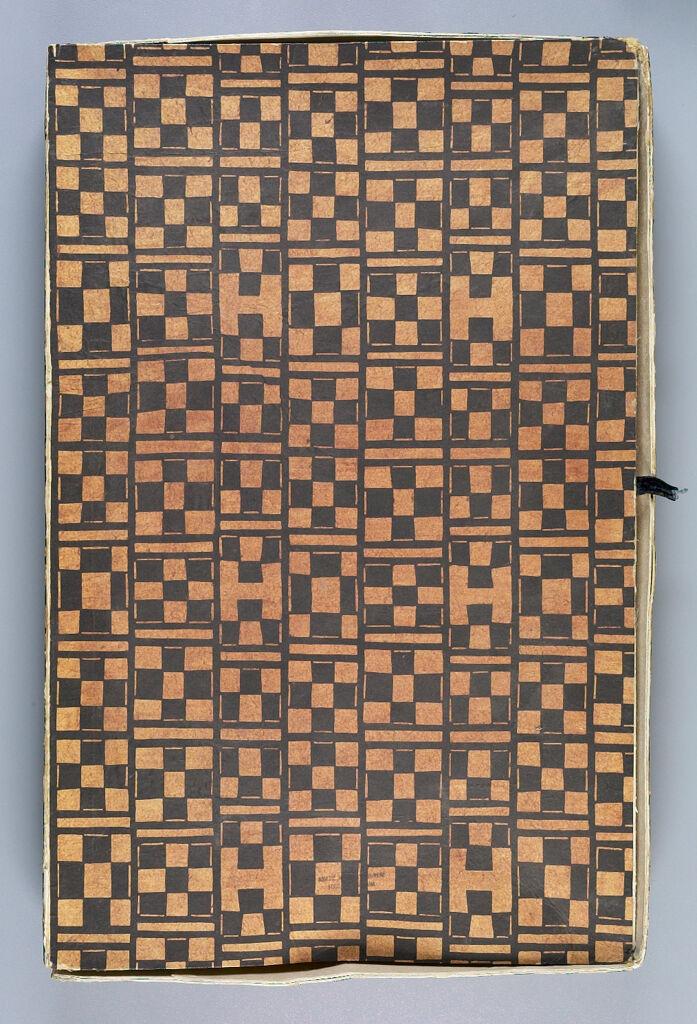 Book Of Okinawan Textile Samples