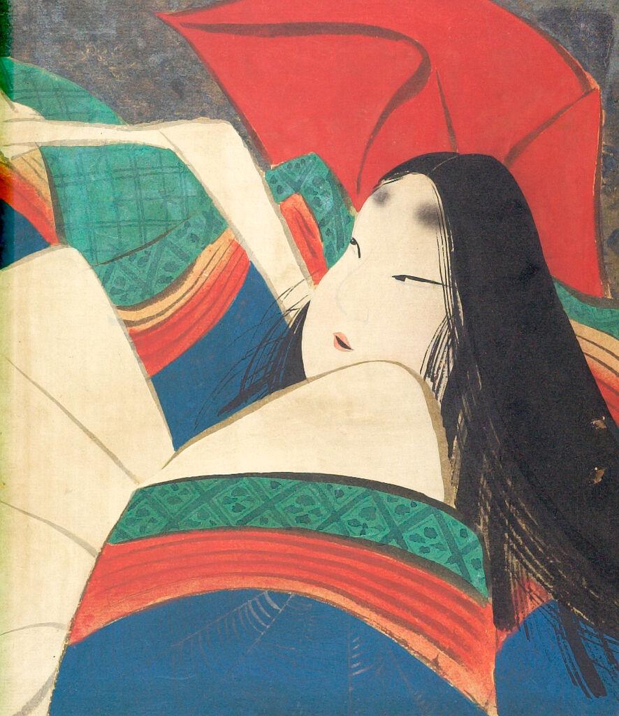 Portrait Of One Of The Thirty-Six Immortal Poets (Sanjurokkasen)