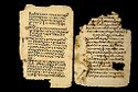 Three Folios From A Coptic Manuscript