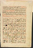 Text, recto; Painting, verso, Illustrated Folio from a Scientific Manuscript in Arabic