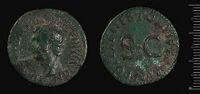 As Of Drusus Struck Under Tiberius, Rome