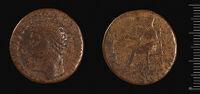 Dupondius Of Claudius, Rome