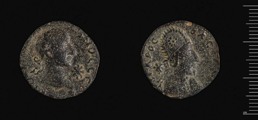 Coin Of Edessa Under Gordian Iii And Abgar X