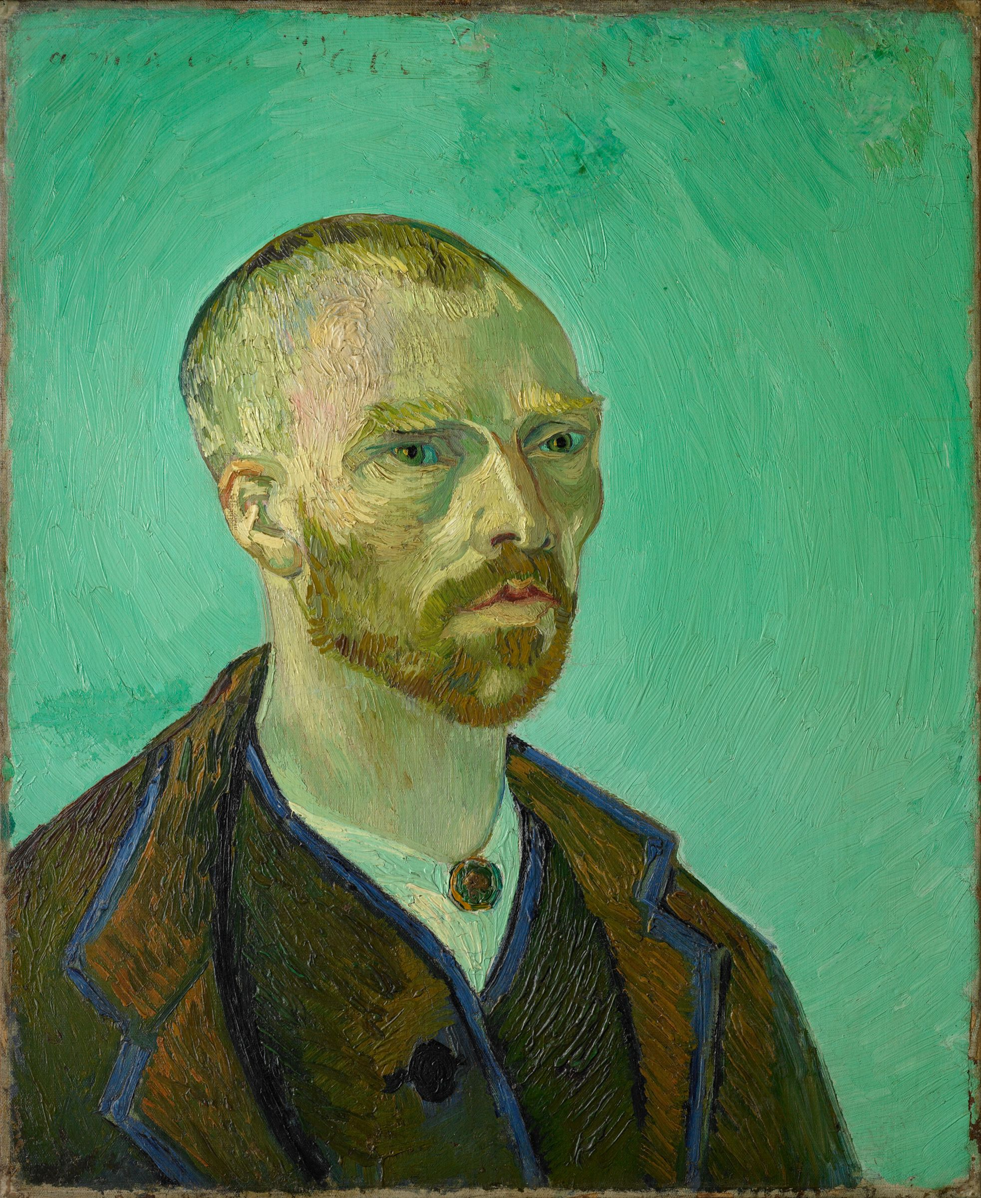 from the harvard art museums collections self portrait dedicated self portrait dedicated to paul gauguin