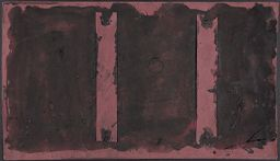 Untitled (Study For Harvard Murals) (Recto)