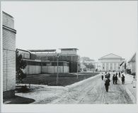 Factory and Office Building for Werkbund Exhibition, Cologne, 1914