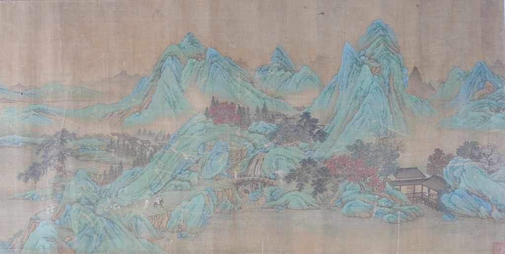 Landscape In The Manner Of Zhao Boju