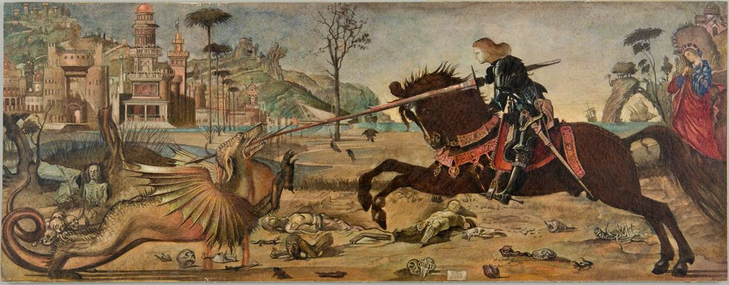 St. George And The Dragon, After Carpaccio