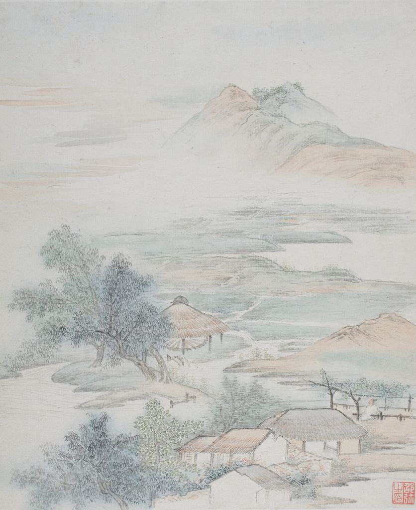 One Of Eight Views Of Jiangnan