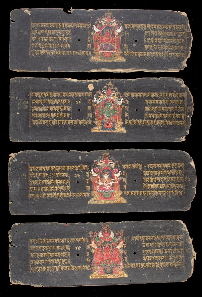 Buddhist Manuscript: Collection Of Dharanis
