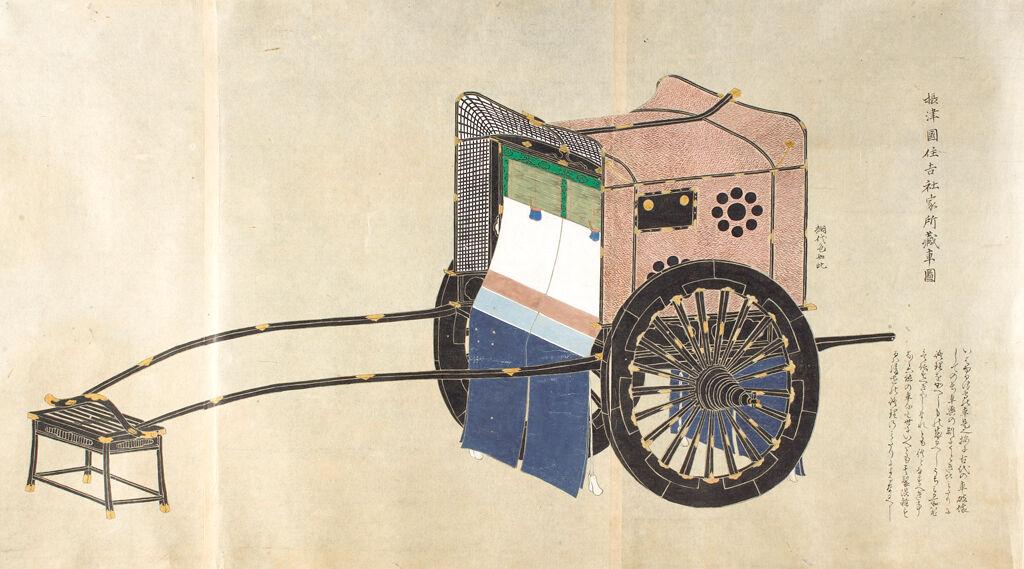 Preliminary Study Of Vehicles And Palanquins (Shayo Zukō) Vol. 3