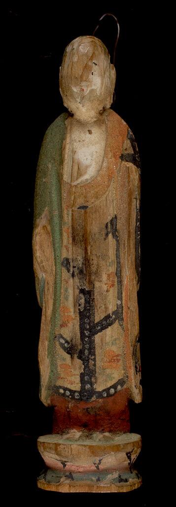 Small Image Of Bodhisattva Ksitigarbha (Japanese: Jizô Bosatsu)
