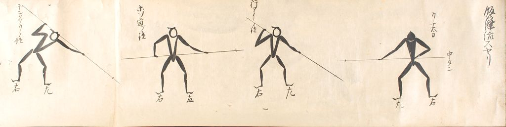 Secret Use Of Spear And Halberd, Iizasa School (Iizasa-Ryū Suyari Naginata No Densho), Volume I Of Two Volumes