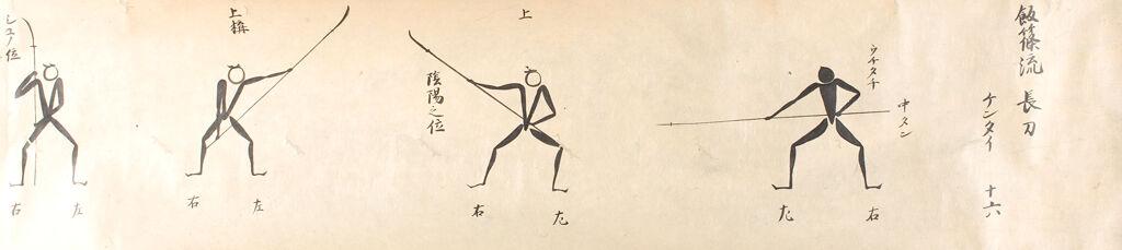 Secret Use Of Spear And Halberd, Iizasa School (Iizasa-Ryū Suyari Naginata No Densho), Volume Ii Of Two Volumes