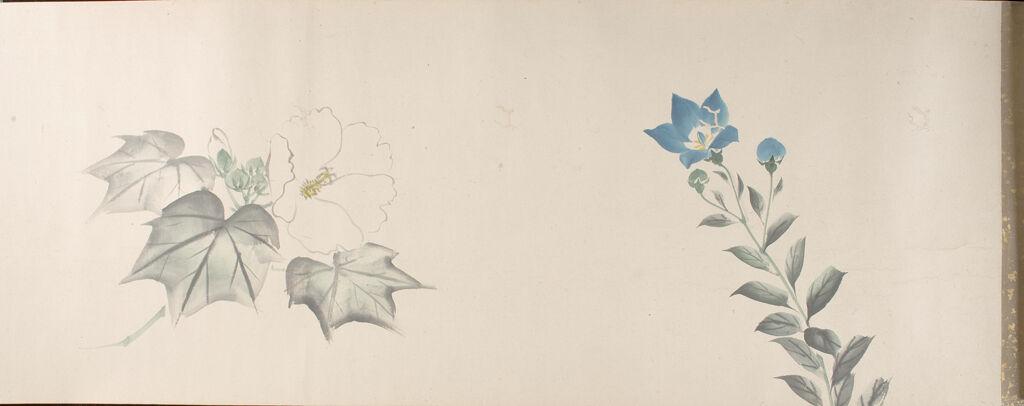 Illustrated Figures And Flowers (Jinbutsu Sōka Gakan) Vol. 1