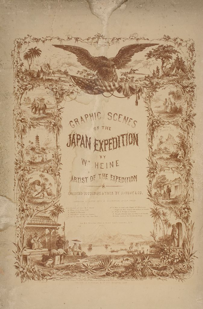 10 Graphic Scenes Of The Japan Expedition By William Heine