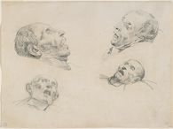 Four Studies of a Severed Head