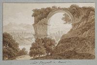 The Ponte Di Augusto At Narni