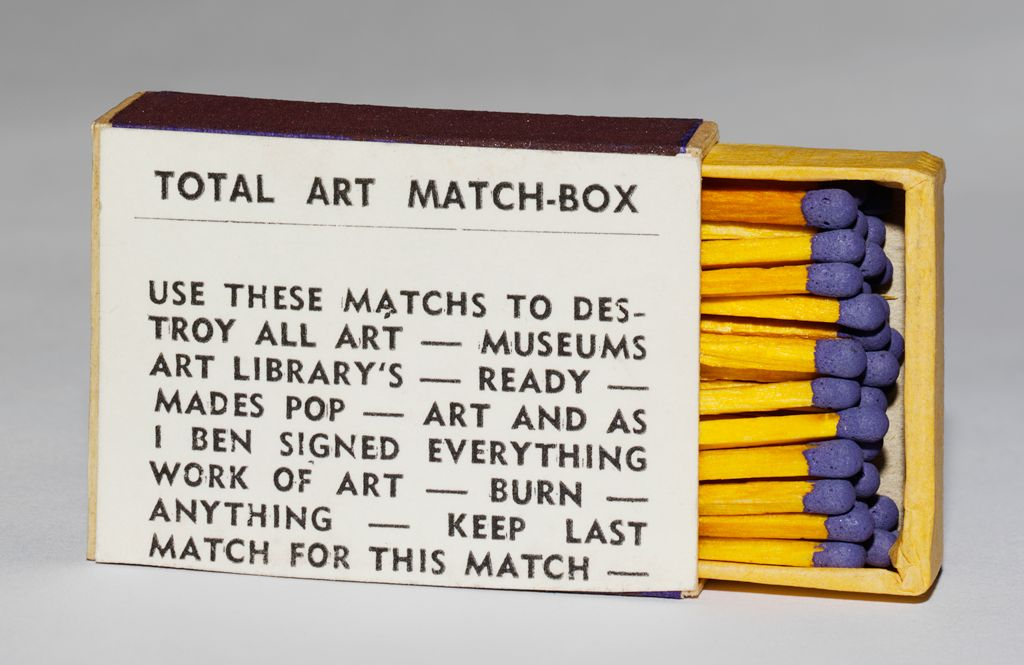 Total Art Match-Box