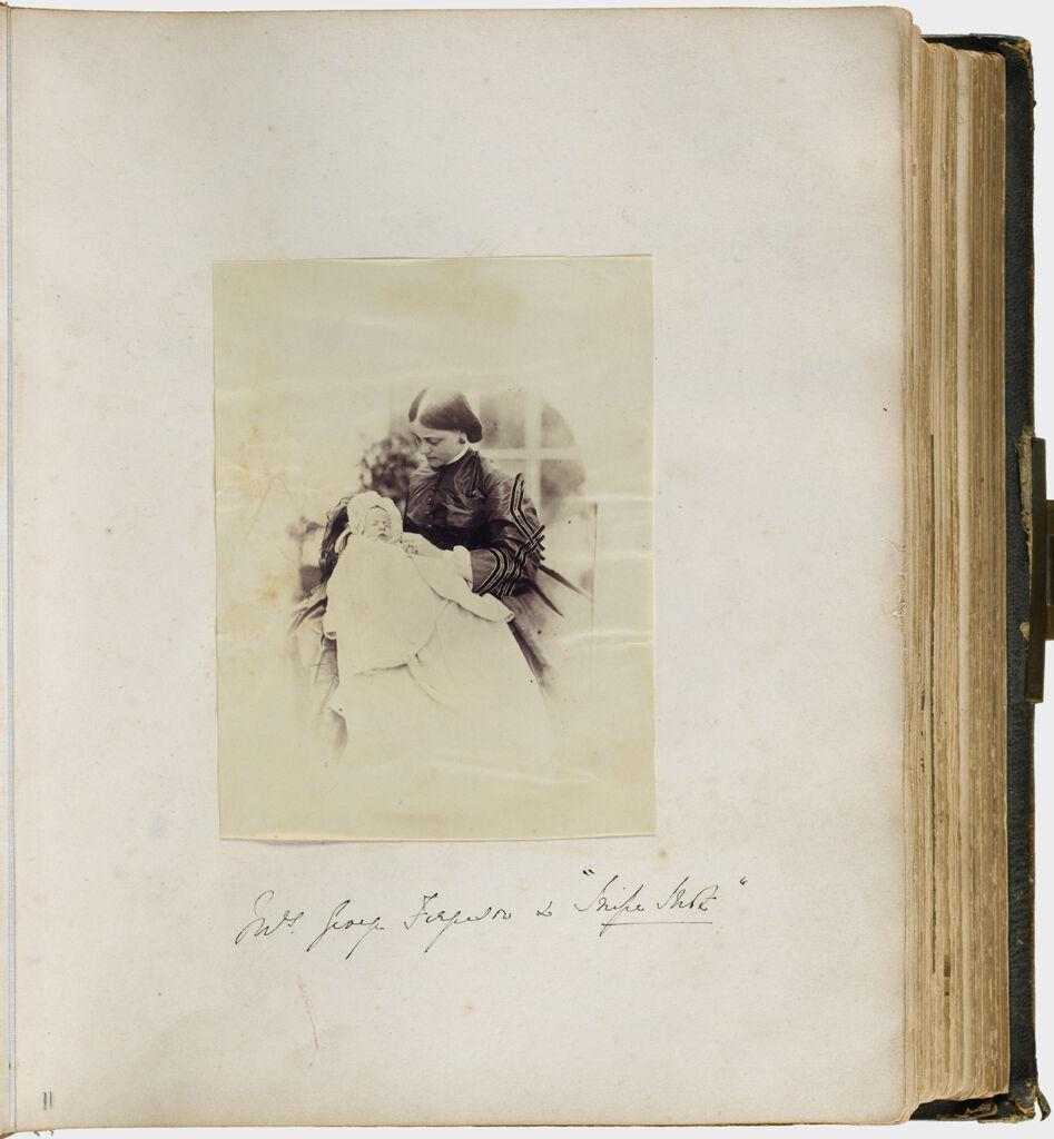 Untitled (Mrs. George Ferguson, Seated, Holding Infant)