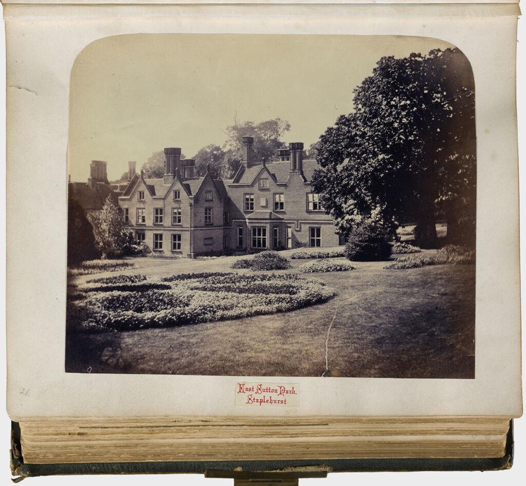 Untitled (View Of East Sutton Park, Staplehurst, Filmer Family Seat)