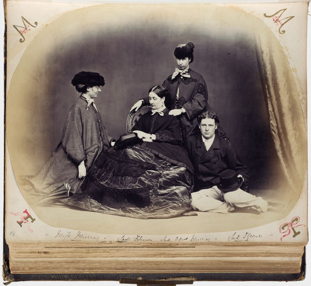 Untitled (Lady Filmer Seated In Center, To Her Right, Miss Murray, Standing Behind Lady Filmer, Lady Alfred Murray, Seated To Lady Filmer's Left, Lord Tyrone)