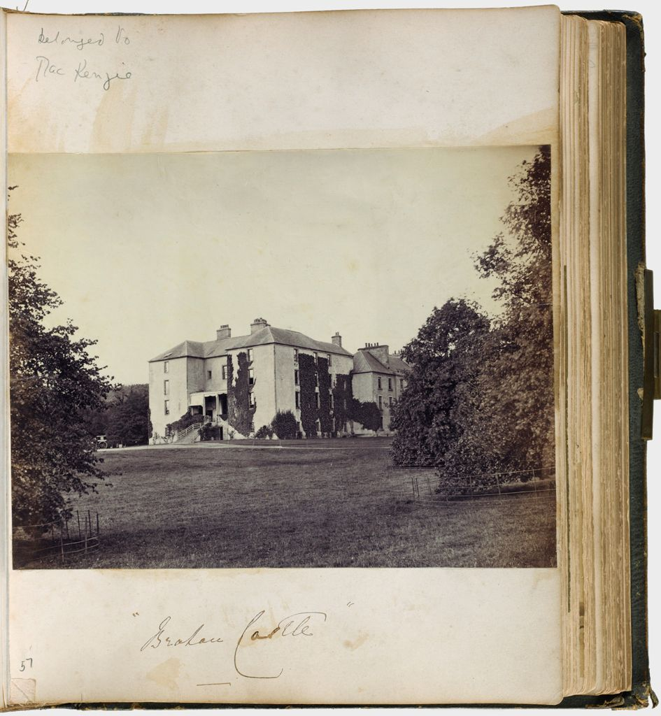 Untitled (Photograph Of Brahan Castle The Seat Of Stuart Mackenzie)