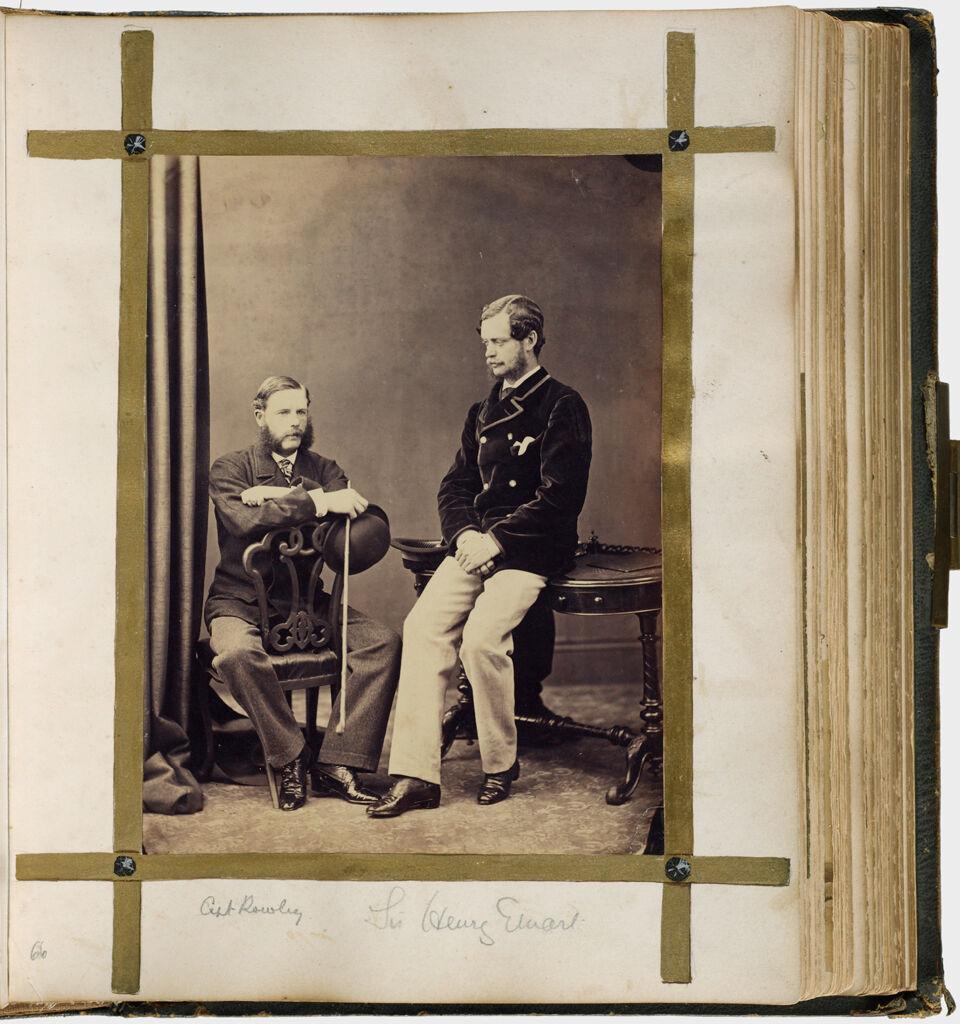 Untitled (One Photograph, Capt. Rowley; Sir Henry Ewart)